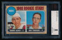 1968 Topps #247 Johnny Bench (BVG 8) at PristineAuction.com