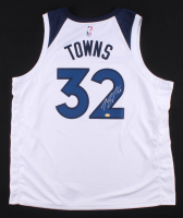 Karl-Anthony Towns Signed Minnesota Timberwolves Jersey (Towns Hologram) at PristineAuction.com