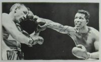 Sugar Ray Robinson Signed 4x7 Magazine Photo (JSA LOA) at PristineAuction.com