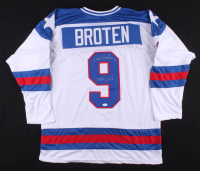 """Neal Broten Signed Jersey Inscribed """"1980 Gold!"""" (TSE COA) at PristineAuction.com"""
