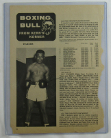 Sugar Ray Robinson Signed 8x11 Magazine Cut (JSA LOA) at PristineAuction.com