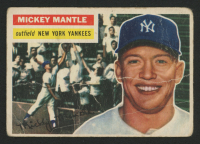 1956 Topps #135 Mickey Mantle at PristineAuction.com