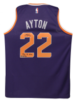 "Deandre Ayton Signed Phoenix Suns LE Jersey Inscribed ""Time to Rise"" (Game Day Legends COA & Steiner Hologram) at PristineAuction.com"