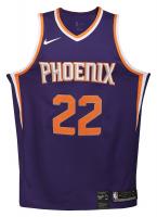 "Deandre Ayton Signed Phoenix Suns LE Jersey Inscribed ""2018 NBA #1 Pick"" (Game Day Legends COA & Steiner Hologram) at PristineAuction.com"