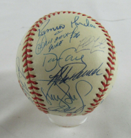 1998 New York Yankees World Series Baseball Team-Signed By (26) With Joe Torre, Mariano Rivera, Darryl Strawberry (PSA LOA) at PristineAuction.com