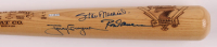 Stan Musial, Tony Gwynn & Rod Carew Signed LE 7-Time Batting Champions Where It All Began Laser Engraved Baseball Bat (JSA LOA) at PristineAuction.com