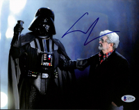 "George Lucas Signed ""Star Wars"" 8x10 Photo (Beckett LOA) at PristineAuction.com"