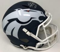 Peyton Manning Signed Denver Broncos AMP Full-Size Speed Helmet (Fanatics Hologram) at PristineAuction.com