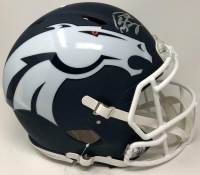 Peyton Manning Signed Denver Broncos AMP Full-Size Authentic On-Field Speed Helmet (Fanatics Hologram) at PristineAuction.com