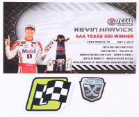 Kevin Harvick Signed NASCAR #4 Mobil 1 2018 Fusion - Texas Win - 1:24 Premium Action Diecast Car (PA COA) at PristineAuction.com