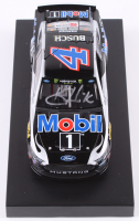 Kevin Harvick Signed NASCAR #4 Mobil 1 2019 Mustang - 1:24 Premium Action Diecast Car (PA COA) at PristineAuction.com