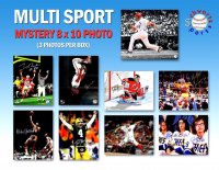 Schwartz Sports Multi Sports Signed Triple 8x10 Mystery Photo Collection – Series 3 (3 Autographed 8x10 Photos Per Box) - *Multiple 16x20 Redemptions* at PristineAuction.com