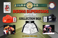 Schwartz Sports Boxing Collection Mystery Box - Series 4 (Limited to 100) (3 Boxing Autographs Per Box)*Grand Prize - Floyd Mayweather Jr Championship Belt* at PristineAuction.com