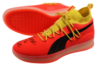 """Deandre Ayton Signed LE Pair of (2) Puma Clyde Court Disrupt Basketball Shoes Inscribed """"Time To Rise"""" (Game Day Legends COA & Steiner COA) at PristineAuction.com"""