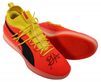 """Deandre Ayton Signed LE Pair of (2) Puma Clyde Court Disrupt Basketball Shoes Inscribed """"2018 NBA #1 Pick"""" (Game Day Legends COA & Steiner COA) at PristineAuction.com"""