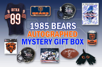 Schwartz Sports1985 Chicago Bears World Champs Autograph Mystery Gift Box – Series 8 (Limited to 85) Grand Prize - TEAM Signed Super Bowl XX Program at PristineAuction.com