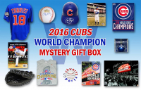 Schwartz Sports 2016 Chicago Cubs World Champs Mystery Autograph Gift Box – Series 8 (Limited to 108) at PristineAuction.com