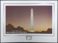 The Washington Monument 6x8 Photo with Marble Stone (The Zone COA) at PristineAuction.com