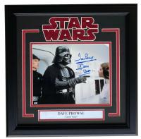 "Dave Prowse Signed ""Star Wars"" 16x17 Custom Framed Photo Display Inscribed ""Darth Vader"" (Steiner COA) at PristineAuction.com"