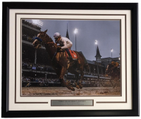 Mike Smith 22x27 Custom Framed Photo Display at PristineAuction.com
