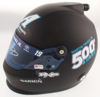 Martin Truex Jr. Signed NASCAR Auto Owners Insurance - 500th Start - Full-Size Helmet (PA COA) at PristineAuction.com