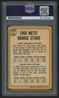 """Nolan Ryan Signed 1968 Topps #177 Rookie Stars RC Inscribed """"The Ryan Express"""" (PSA Encapsulated) at PristineAuction.com"""