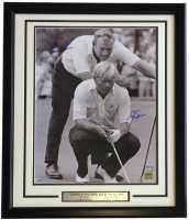 Arnold Palmer & Jack Nicklaus Signed 22x27 Custom Framed Photo Display (Fanatics Hologram) at PristineAuction.com