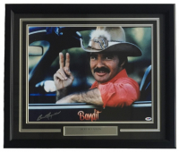 "Burt Reynolds Signed ""Smokey And The Bandit"" 22x27 Custom Framed Photo Display (PSA COA) at PristineAuction.com"