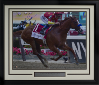 Mike Smith Signed 22x27 Custom Framed Photo Display (Sports Integrity COA) at PristineAuction.com
