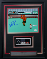 """Mike Tyson Signed """"Punch-Out!!"""" 15x19 Custom Framed Photo Display with Nintendo Controller (JSA COA) at PristineAuction.com"""