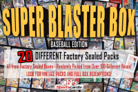 """SUPER BLASTER MYSTERY BOX"" (20) DIFFERENT Factory Sealed Packs – Baseball Edition at PristineAuction.com"