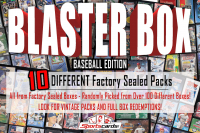 """""""BLASTER MYSTERY BOX"""" (10) DIFFERENT Factory Sealed Packs – Baseball Edition at PristineAuction.com"""