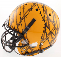 JuJu Smith-Schuster Signed Pittsburgh Steelers Full-Size Authentic On-Field Hydro-Dipped Helmet (JSA COA) at PristineAuction.com