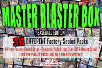"""MASTER BLASTER MYSTERY BOX"" (30) DIFFERENT Factory Sealed Packs – Baseball Edition at PristineAuction.com"