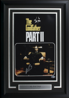 """Al Pacino Signed """"The Godfather Part II"""" 17x24 Custom Framed Photo Display (Beckett COA) at PristineAuction.com"""