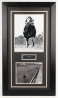 Ron Turcotte Signed 20.5x35.5 Custom Framed Photo Display (JSA COA) at PristineAuction.com