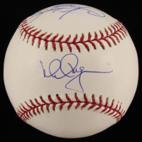 Mark McGwire & Sammy Sosa Signed OML Baseball (Steiner COA & MLB Authentication Hologram) at PristineAuction.com