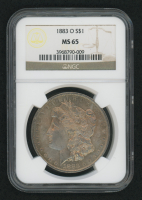 1883-O Morgan Silver Dollar (NGC MS65) (Toned) at PristineAuction.com