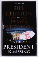 "Bill Clinton & James Patterson Signed ""The President Is Missing"" Hardcover Book (JSA COA) at PristineAuction.com"