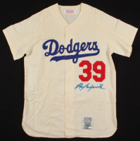 Roy Campanella Signed Brooklyn Dodgers Jersey (JSA LOA) at PristineAuction.com