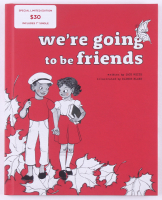 "Jack White Signed LE ""We're Going to be Friends"" Hardcover Book (JSA COA) at PristineAuction.com"