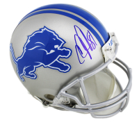 Calvin Johnson Signed Detroit Lions Full-Size Authentic On-Field Helmet (Radtke COA) at PristineAuction.com