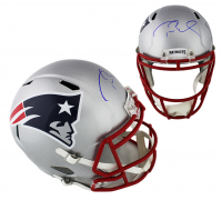 Tom Brady Signed New England Patriots Super Bowl LIII Full-Size Speed Helmet (TriStar Hologram) at PristineAuction.com