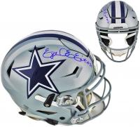 Ezekiel Elliott Signed Dallas Cowboys Full-Size Authentic On-Field SpeedFlex Helmet (Beckett COA) at PristineAuction.com