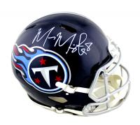 Marcus Mariota Signed Titans Full-Size Authentic On-Field Speed Helmet (Radtke COA) at PristineAuction.com