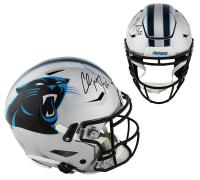 Christian McCaffrey Signed Carolina Panthers Full-Size Authentic On-Field SpeedFlex Helmet (Radtke COA) at PristineAuction.com