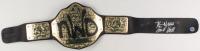 "Kevin Nash & Scott Hall Signed WWE ""NWO"" World Heavyweight Championship Belt (Pro Player Hologram) at PristineAuction.com"