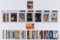 Lot of (134) Mickey Mantle Baseball Cards with Vintage, Modern & Graded Cards at PristineAuction.com
