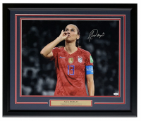 Alex Morgan Signed Team USA 22x27 Custom Framed Photo Display (JSA COA) at PristineAuction.com