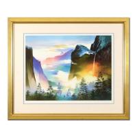 "H. Leung Signed ""Evening Splendor"" Limited Edition 39x33 Custom Framed Giclee #643/850 at PristineAuction.com"